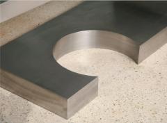 Marzio Cecchi A Rare Marzio Cecchi Stainless Steel Desk Console - 529106