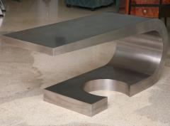 Marzio Cecchi A Rare Marzio Cecchi Stainless Steel Desk Console - 529107