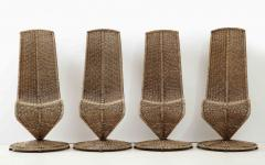 Marzio Cecchi Set of Four Marzio Cecchi Model S Chairs Italy - 1812087