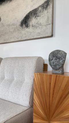 Masanori Sugisaki PHILOSOPHER HEAD 10 Stone sculpture - 1133046