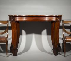 Massive Regency Mahogany Console Table - 1043526