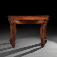 Massive Regency Mahogany Console Table - 1043527