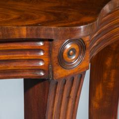 Massive Regency Mahogany Console Table - 1043528