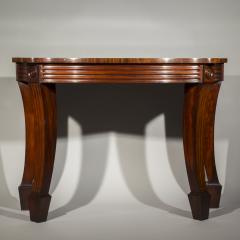 Massive Regency Mahogany Console Table - 1043531