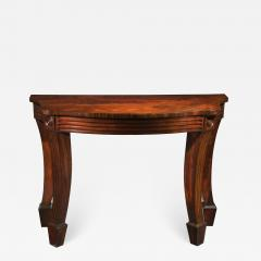 Massive Regency Mahogany Console Table - 1043922