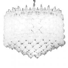 Massive Venini Murano Glass Chandelier - 184004