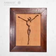 Mathias Goeritz Surrealism Sculpture Savior of Auschwitz Bronze Cross by Mathias Goeritz Mexico - 1542732