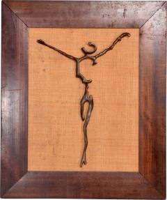 Mathias Goeritz Surrealism Sculpture Savior of Auschwitz Bronze Cross by Mathias Goeritz Mexico - 1543603