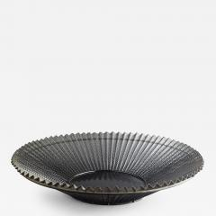 Mathieu Mat got Black Wire Metal Mesh Bowl with Pleats - 365639