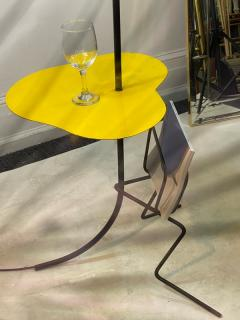 Mathieu Mat got FRENCH MID CENTURY MAGAZINE COCKTAIL TABLE FLOOR LAMP IN THE STYLE OF MATEGOT - 2122985
