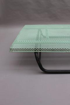Mathieu Mat got French 1950s Perforated Metal Coffee Table in the Style of Mathieu Mategot - 2004687
