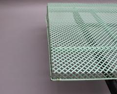 Mathieu Mat got French 1950s Perforated Metal Coffee Table in the Style of Mathieu Mategot - 2004730