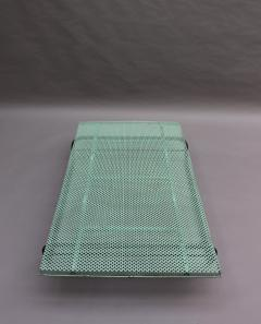 Mathieu Mat got French 1950s Perforated Metal Coffee Table in the Style of Mathieu Mategot - 2004733
