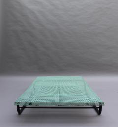 Mathieu Mat got French 1950s Perforated Metal Coffee Table in the Style of Mathieu Mategot - 2004736
