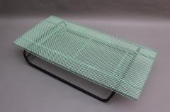 Mathieu Mat got French 1950s Perforated Metal Coffee Table in the Style of Mathieu Mategot - 2004743