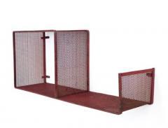 Mathieu Mat got MATHIEU MATEGOT ESCARGOT MODEL PERFORATED METAL WALL SHELVES - 2142984