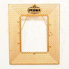Mathieu Mat got Manner of Mathieu Mat got Metal Perforated Perma Picture Photo Frame 1950s - 1509971