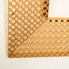 Mathieu Mat got Manner of Mathieu Mat got Metal Perforated Perma Picture Photo Frame 1950s - 1509979