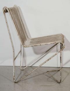 Mathieu Mat got Mathieu Mat got Enameled Steel Casablanca Dining Chairs - 1046890