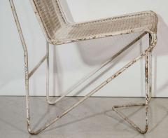 Mathieu Mat got Mathieu Mat got Enameled Steel Casablanca Dining Chairs - 1046891