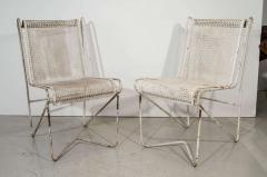 Mathieu Mat got Mathieu Mat got Enameled Steel Casablanca Dining Chairs - 1046895