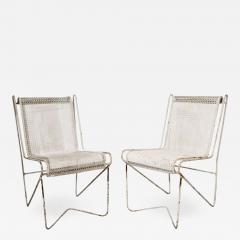 Mathieu Mat got Mathieu Mat got Enameled Steel Casablanca Dining Chairs - 1050042