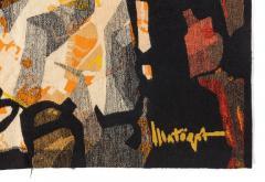 Mathieu Mat got Mathieu Mat got Signed Aubusson Tapestry for Pinton France 1960s - 548511