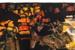 Mathieu Mat got Mathieu Mat got Signed Aubusson Tapestry for Pinton France 1960s - 548512