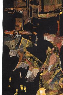 Mathieu Mat got Mathieu Mat got Signed Aubusson Tapestry for Pinton France 1960s - 548515