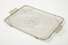 Mathieu Mat got Mathieu Mategot Perforated White Metal Tray - 2132368