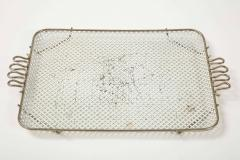 Mathieu Mat got Mathieu Mategot Perforated White Metal Tray - 2132372