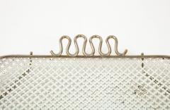 Mathieu Mat got Mathieu Mategot Perforated White Metal Tray - 2132375