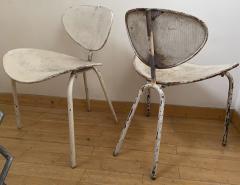 Mathieu Mat got Mathieu Mategot genuine pair of Nagasaki chair in vintage condition - 1779866
