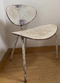 Mathieu Mat got Mathieu Mategot genuine pair of Nagasaki chair in vintage condition - 1779869