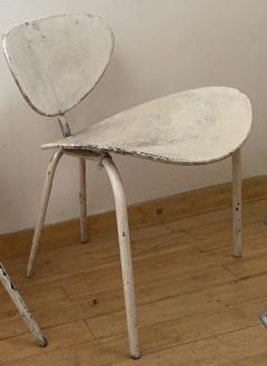 Mathieu Mat got Mathieu Mategot genuine pair of Nagasaki chair in vintage condition - 1779870