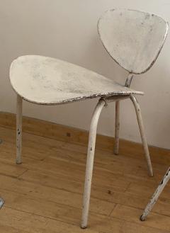 Mathieu Mat got Mathieu Mategot genuine pair of Nagasaki chair in vintage condition - 1779871