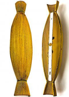 Mathieu Mat got Mathieu Mategot unique Rigitule model Bonbon pair of sconces or pendant - 947278