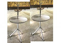 Mathieu Mat got Mathieu mategot style pair of charming serving table in vintage condition - 1162955