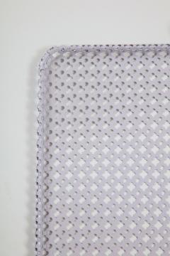 Mathieu Mat got White Rectangular Perforated Metal Tray by Mathieu Mat got - 2059078