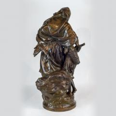 Mathurin Moreau A High Quality Patinated Bronze Group Sculpture - 1468898