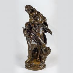 Mathurin Moreau A High Quality Patinated Bronze Group Sculpture - 1468899