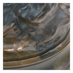 Mathurin Moreau Le R ve du Po te Monumental Fine Quality Patinated Bronze Sculpture - 1436486