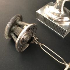 Matthew Boulton A Regency Silver Plated Argand - 904581