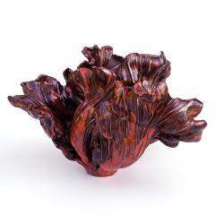 Matthew Solomon Matthew Solomon Glazed Ceramic Tulip Red - 618113