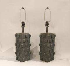 Matthew Ward Pair of Ceramic Table Lamps by Matthew Ward 2018 - 1186377