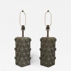 Matthew Ward Pair of Ceramic Table Lamps by Matthew Ward 2018 - 1187107