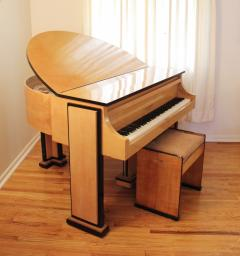 Maurice Adams Extraordinary Collection of Signed English Designer Furniture and Piano - 339729