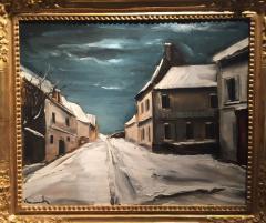 Maurice De Vlaminck Village sous la neige 1925 - 53527