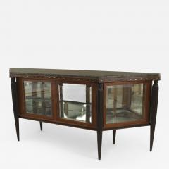 Maurice Dufr ne French Art Deco Mahogany Sideboard Cabinet - 470376