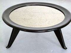 Maurice Jallot 1940s Round Coffee Table - 1908994